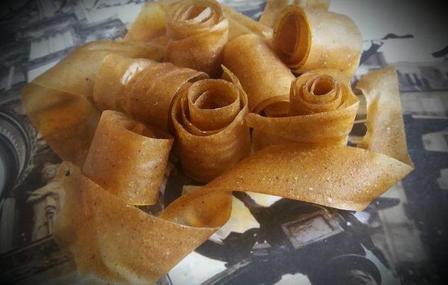Cuirs de fruits Pommes Vanille (bonbon)