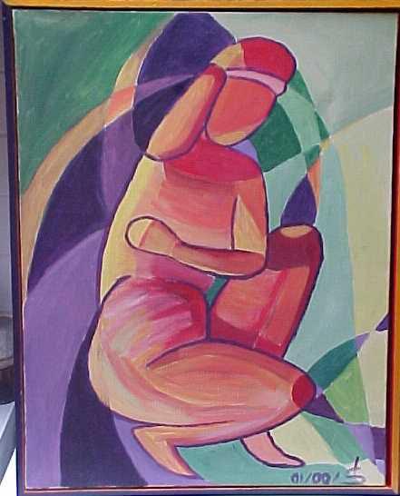 quelques dessins et peinture de Denise Sauzon. Une partie importante provenant de mes voyages au Maroc mais pas que...