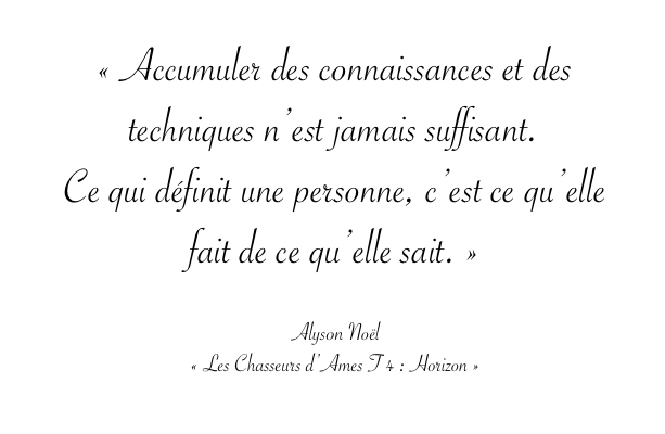 Citation Alyson Noël 2