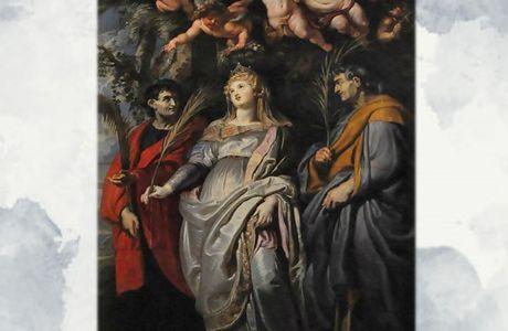 7 Maggio : Santa Flavia Domitilla Martire - Preghiera e vita