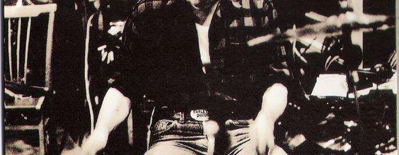 U2 -Larry Mullen -Hansa Ton Studios -Berlin-1990