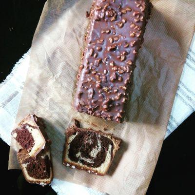 Le cake marbré de Cyril Lignac