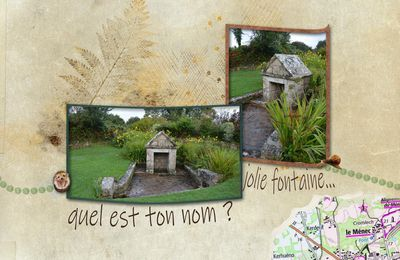 CARNAC - une fontaine