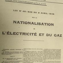 Démembrement de l'EDF : le pillage et l'équarissage de l'industrie continuent !