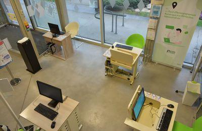 Un quatrième ordinateur pour le Point numérique du PIMMS de Quimper Cornouaille