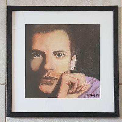 Pastel Chris Martin