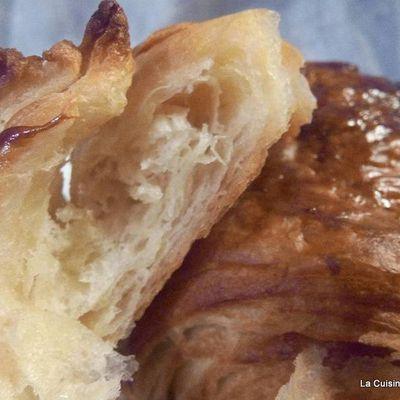 Petit pains au chocolat - pâte levée feuilletée - PLF le