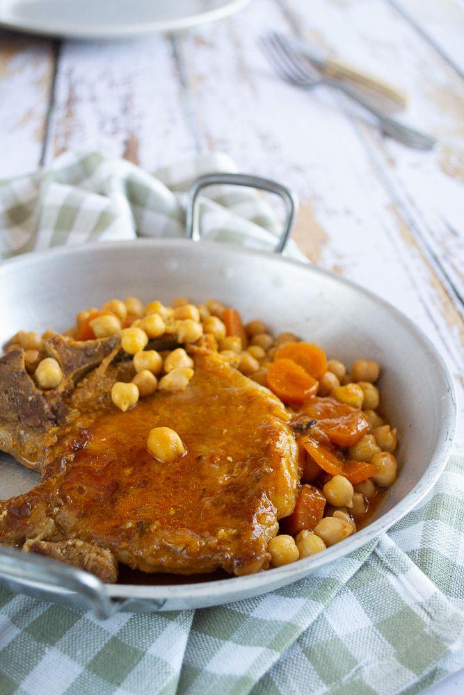Côtes de porc à la moutarde (au cookeo)