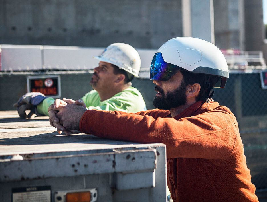 """Daqri's augmented-reality construction helmet aims to """"change the nature of work"""""""