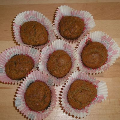 Muffins aux cocos!!!!