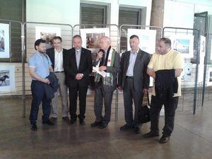 Vernissage de l'exposition Alep, De la Vie à la Guerre
