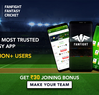 Play Online Cricket Fantasy Games and Leagues on FanFight