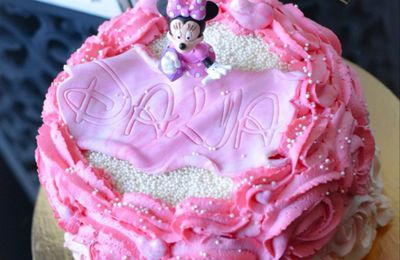 De la douceur et de l exotisme avec ce cake design tout en dégradé facon rose cake