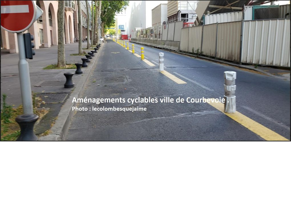 amenagement cyclable courbevoie