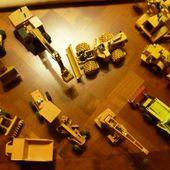 Une autre collection: Engins de chantier miniature - anciens9genie.overblog.com