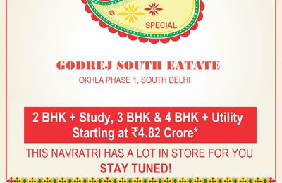 Biggest Festive offer in Godrej South Estate Okhla | Flash Dicount of Rs. 9 Lac on every unit
