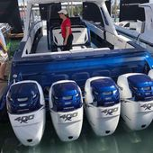 Record Number of Engines on Display at the 2019 Miami Boat Show for Mercury Marine - Yachting Art Magazine