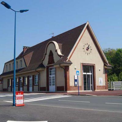 Gare de Villers sur Mer (14)