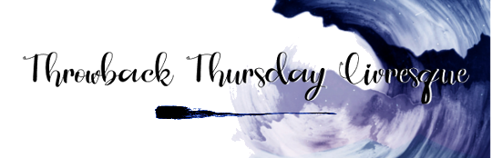 Throwback Thursday Livresque (n°59)