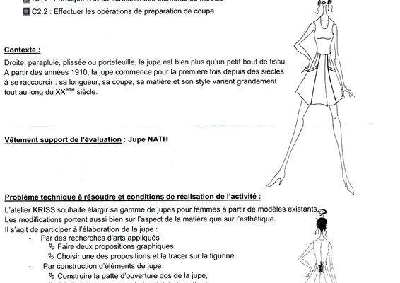 liens : CAP couture flou, candidat libre.