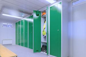 Mise à disposition d'un local séparé à usage de vestiaire et d'un emplacement pour se restaurer sur les lieux de travail