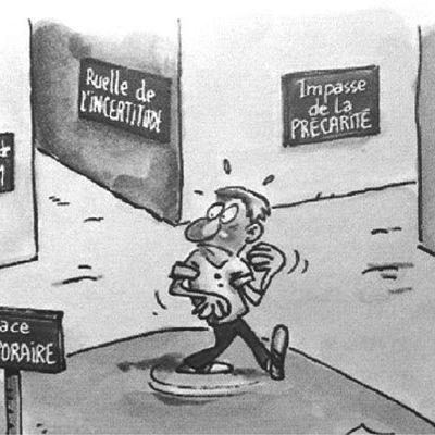 Les licenciements et les perspectives de restructuration provoquent une baisse du coût de la main d'oeuvre.