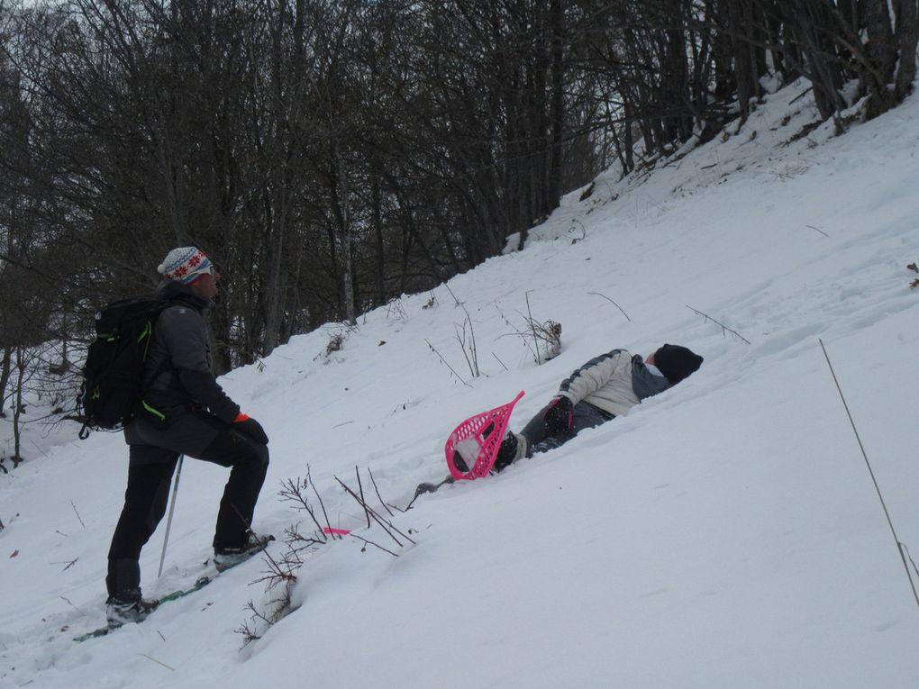 Cinquième jour de classe de neige
