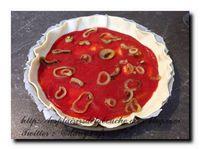 Tarte aux poivrons thon et tomates