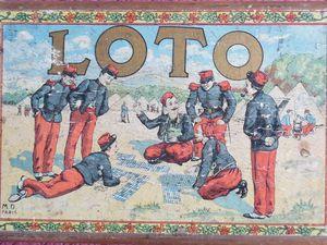le loto dans l'art