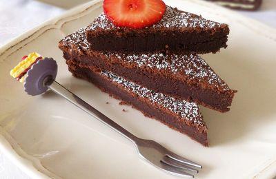 Moelleux Chocolat & Mascarpone-Sans Beurre