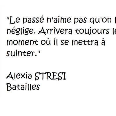 Batailles de Alexia STRESI
