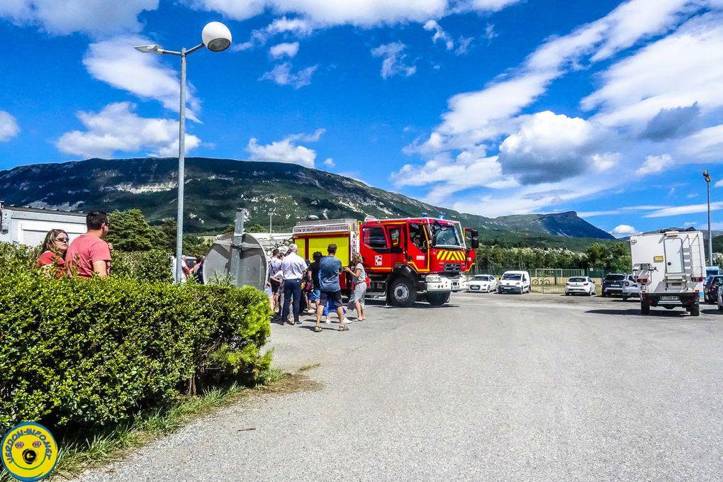 Portes ouvertes pour les pompiers de St André les Alpes