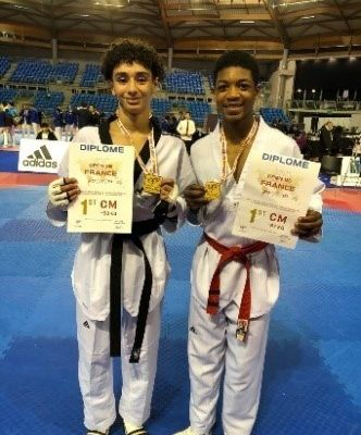 Deux médailles en OR pour STKD77 AU TOURNOI INTERNATIONAL DE PARIS (OPEN De France 2019)