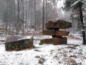 """Les sculptures monumentales du """"sentier des Géants"""""""
