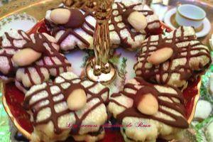 Sablés au chocolat et aux amandes