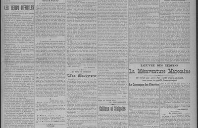 "Léon Hudelle ""Propos d'un Campagnard : Le mépris d'Enacryos"" (1911)"