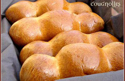 Cougnous ou Cougnolles brioche belge de noël