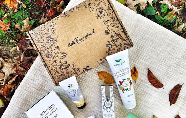 Box belle au naturel de Novembre - Unboxing