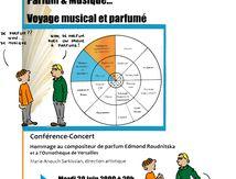 Voyage musical et parfumé