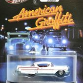58 IMPALA AMERICAN GRAFFITI RETRO ENTERTAINMENT HOT WHEELS 1/64 - car-collector.net