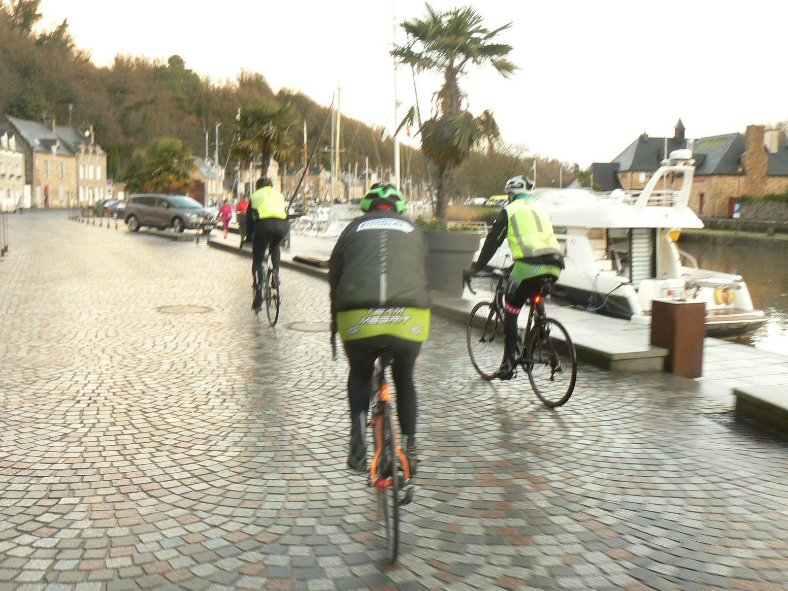 24 Janvier 2021 :La traversée de Dinan : le port, le chateau, vers Taden.