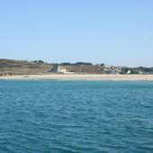 256 - Baie des Trépassés, Pointe du Raz, sentier côtier GR 34, cale de Poul Mostrec, abri côtier du Cap Sizun, Finistère, Bretagne -