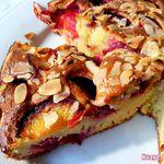 Gâteau Prunes Amandes