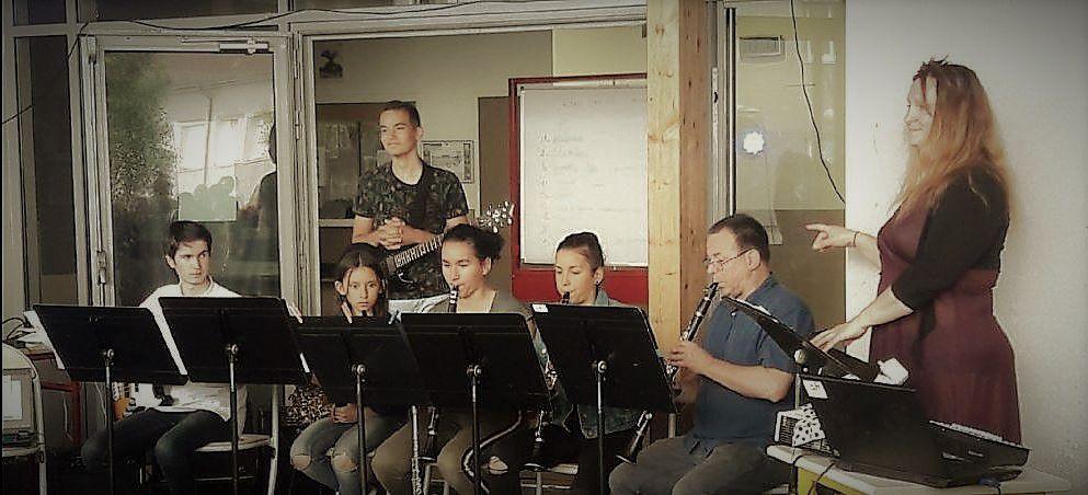 Fête de la musique au collège Audembron