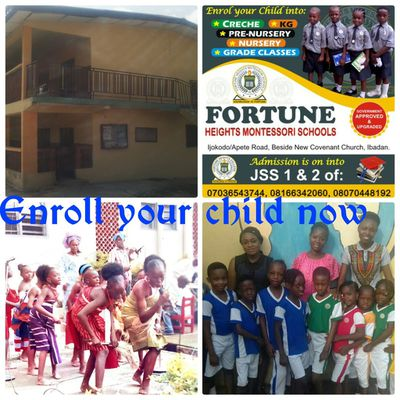 Why you need to enroll your child in Fortune Heights Montessori Schools