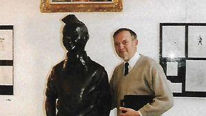 La statue de Tintin, pour toujours à mes côtés