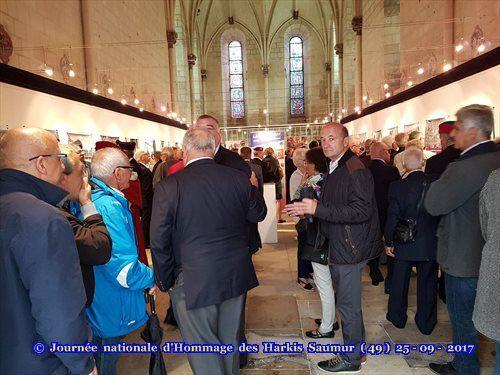 Journée nationale d'Hommage des Harkis, et membres des formations supplétives à Saumur (49)