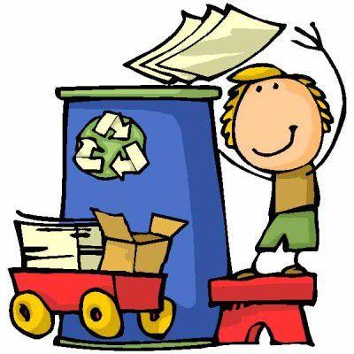 Benne à papiers pour collecte de papiers recyclables à Valence et à Saint Front