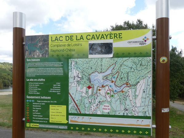 Lac de la Cavayère par les crêtes de Montirat 12 Oct 20