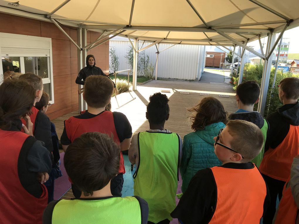 Journée du sport scolaire en 5è au PAARC de Gravelines